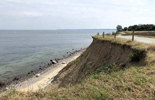 Steilküste Richtung Travemünde