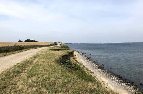 Steilküste Richtung Niendorf