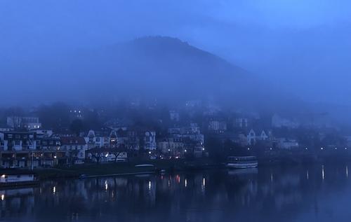 Heidelberg zur Blauen Stunde